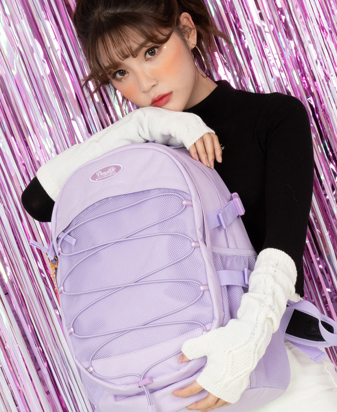 DAYLIFE AIR STRING BACKPACK(PURPLE)
