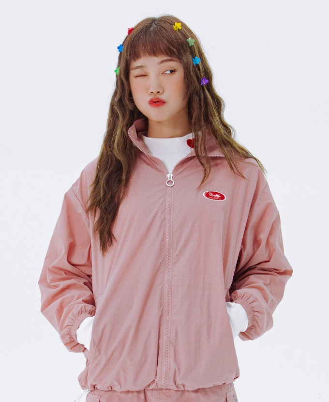 DAYLIFE REFLECTIVE JACKET (PINK)