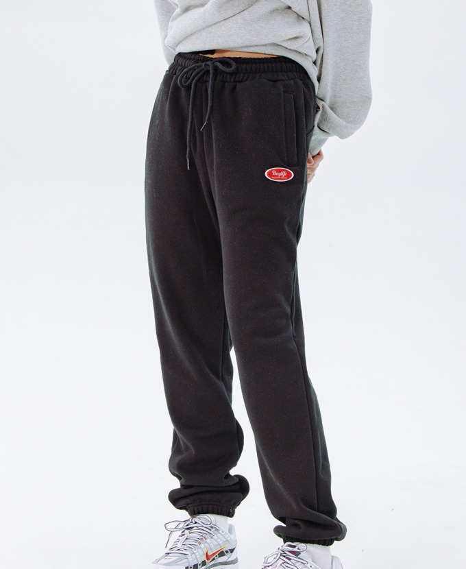 DAYLIFE LOGO SWEAT PANTS (BLACK)