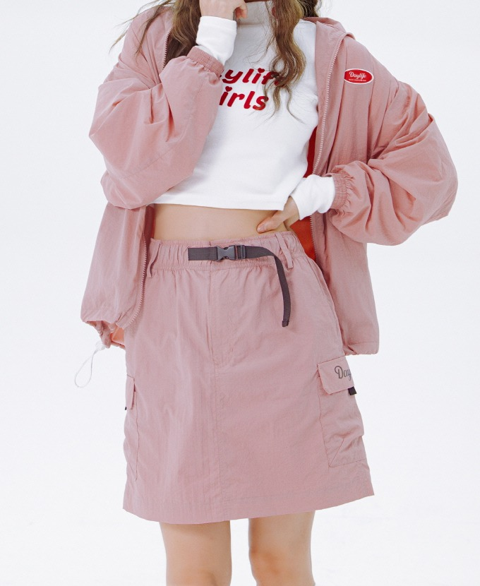 DAYLIFE REFLECTIVE BELT SKIRT (PINK)